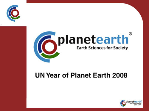 UN Year of Planet Earth 2008
